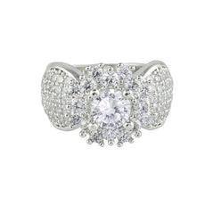 Flower Diamond Ring - Bon Flare Ltd.