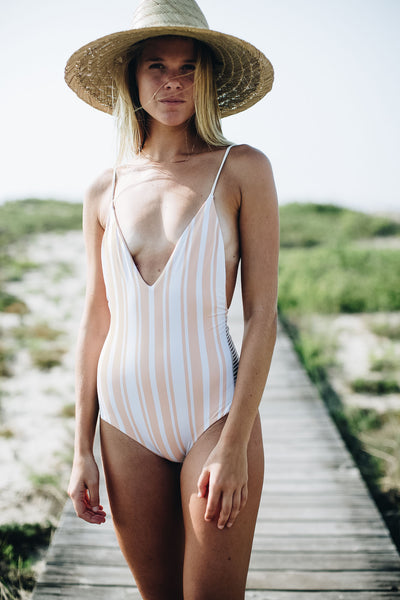 Navy Road One Piece - Summer Label