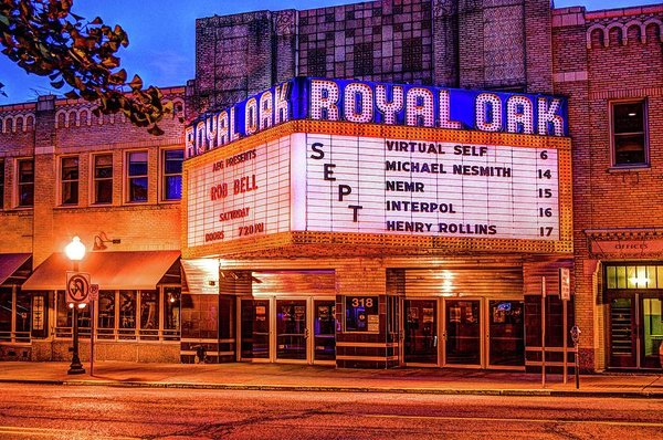Royal Oak Theater  V2 Dsc_0432 - Art Print