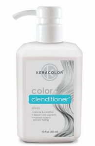 KeraChroma - Keracolor Color & Clenditioner - Silver 355mL