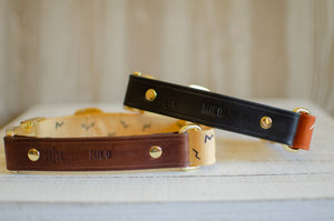 Collar Personalization - Only for Leather Collars
