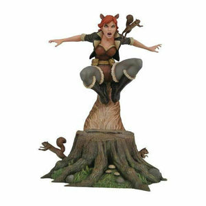 DIAMOND SELECT MARVEL GALLERY SQUIRREL GIRL PVC DIORAMA FIGURE NEW AVENGERS69978