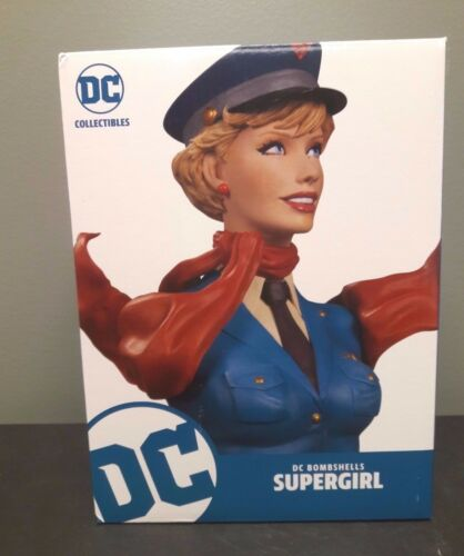 DC COLLECTIBLES COMICS BOMBSHELLS SUPERGIRL BUST STATUE