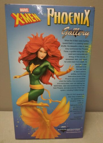 DIAMOND SELECT MARVEL GALLERY X-MEN PHOENIX PVC DIORAMA FIGURE NEW JEAN GREY