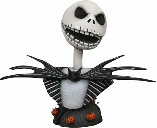 LEGENDS IN 3 DIMENSIONS JACK SKELLINGTON 1/2 SCALE RESIN BUST DIAMOND SELECT