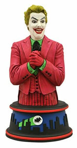 BATMAN THE CLASSIC TV SERIES THE JOKER BUST STATUE NUMBERED LIMITED 1444 OF 3000