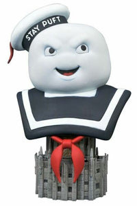 LEGENDS IN 3 DIMENSIONS GHOSTBUSTERS STAY PUFT 1/2 SCALE RESIN BUST