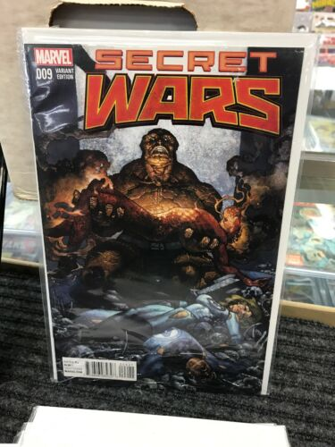 MARVEL SECRET WARS VARIANTS # 1-9 COMPLETE SET HULK AVENGERS FANTASTIC FOUR