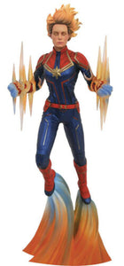 DIAMOND SELECT MARVEL GALLERY CAPTAIN MARVEL BINARY FORCE PVC DIORAMA