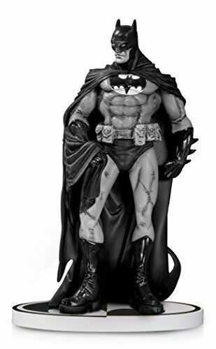 DC COLLECTIBLES BATMAN BLACK & WHITE EDUARDO RISSO BATMAN STATUE SECOND EDITION