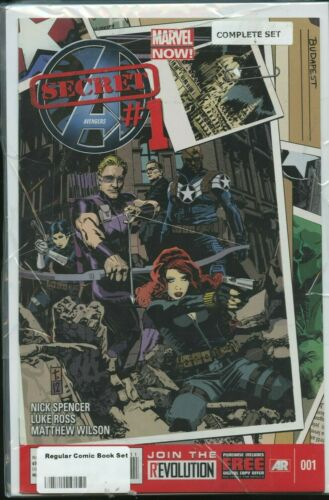 MARVEL SECRET AVENGERS # 1-15 LOT BLACK WIDOW NICK FURY HAWKEYE PHIL COULSON