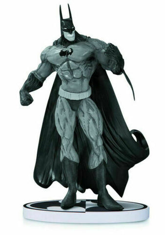BATMAN BLACK AND WHITE BATMAN STATUE BY SIMON BISLEY SECOND EDITION DC