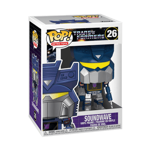 Funko Pop Transformers Soundwave