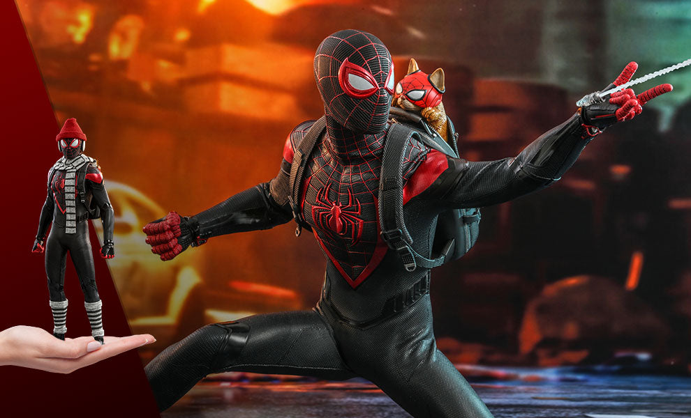 Miles Morales Spider-Man sixth scale figure