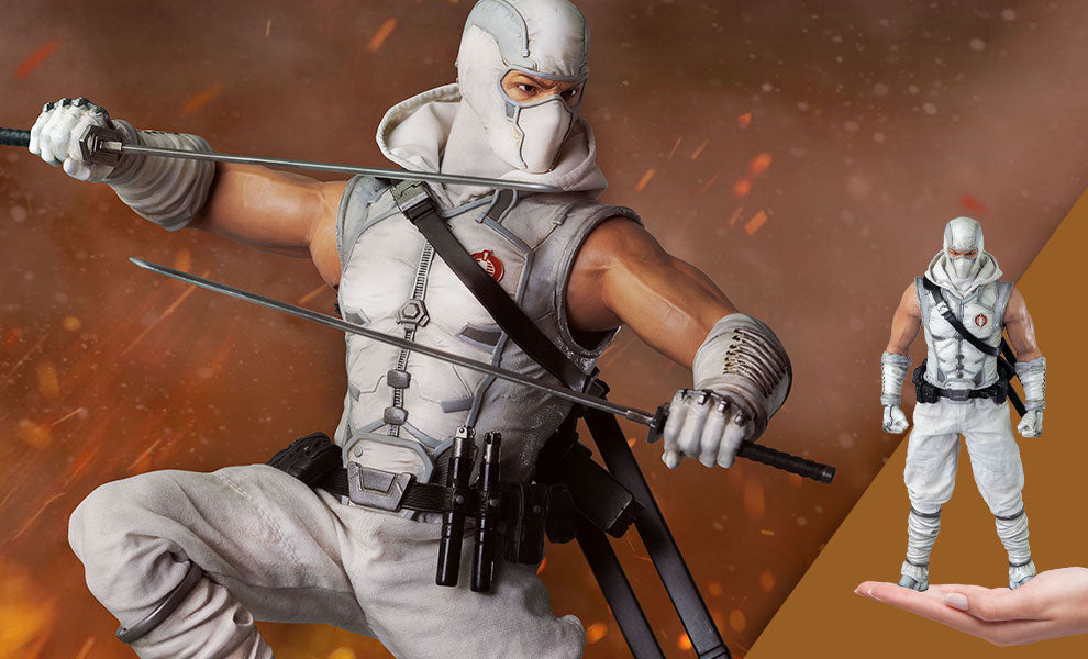 GI Joe Storm Shadow Threezero sixth scale figure