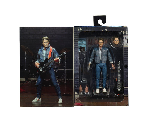 "Back to the Future Ultimate Marty McFly (Audition) 7"" Action Figure"