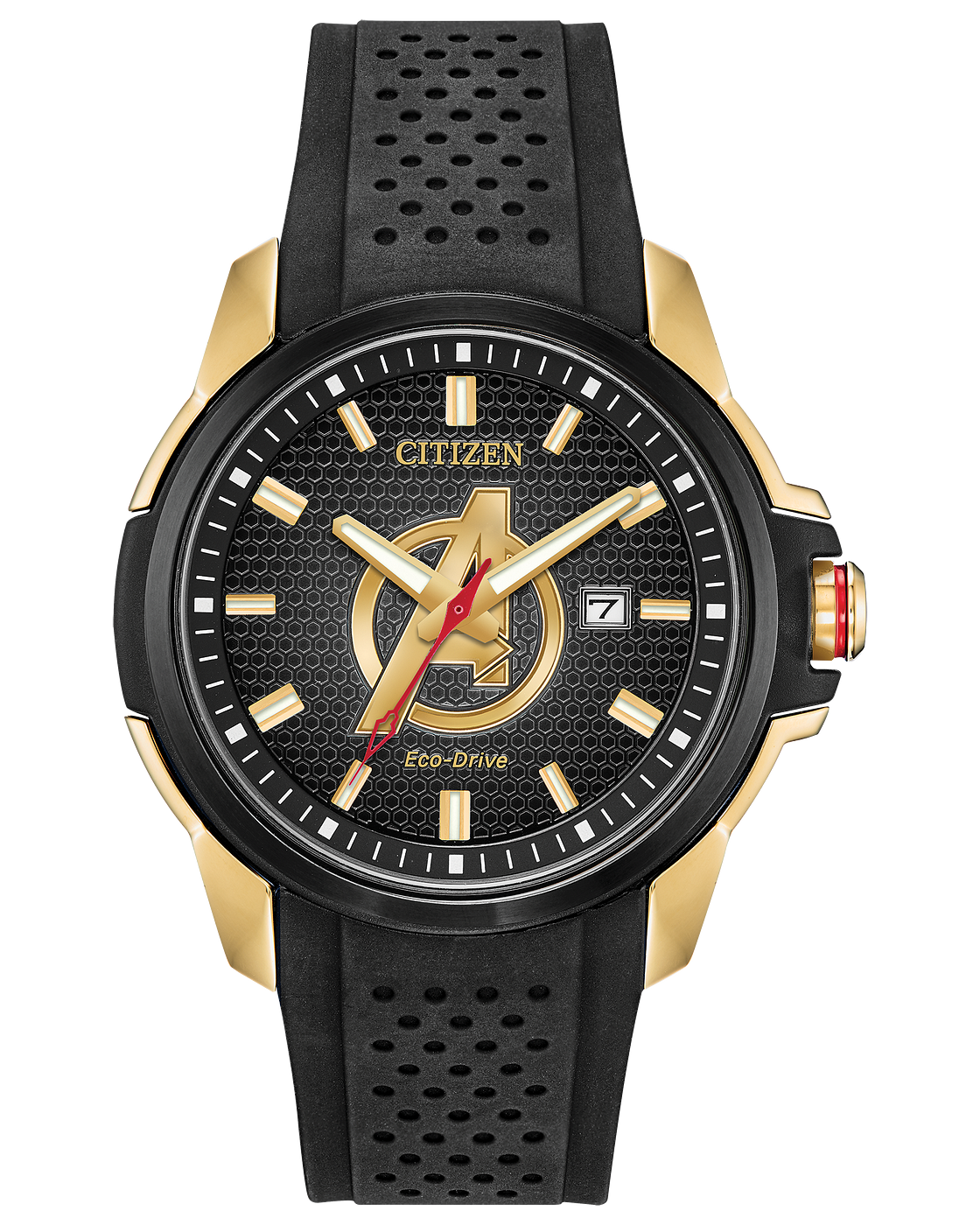 Citizen Marvel Avengers Eco-Drive Gold Stainless Steel Men's Watch