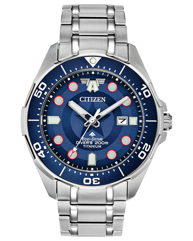 Citizen Marvel Captain America Special Edition Promaster Dive Men's Watch
