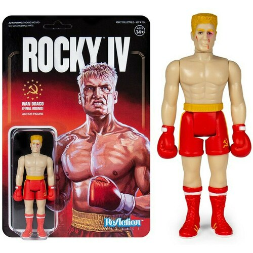Super7 ReAction Figure Ivan Drago (Final Round)