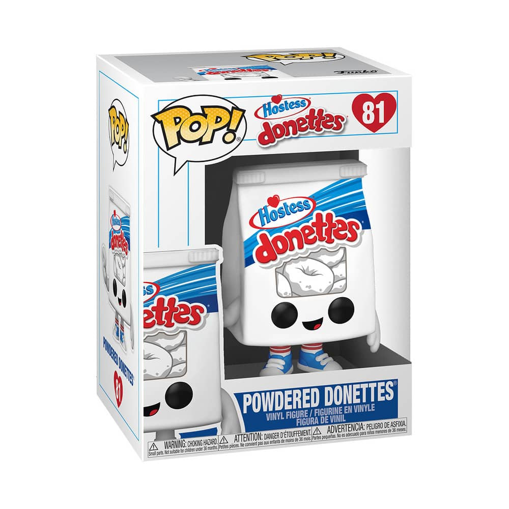 Funko Pop Hostess Powdered Donettes