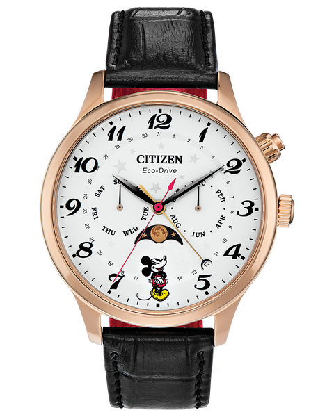 Citizen Disney Moon Phase Mickey Mouse Men's Watch