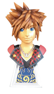LEGENDS IN 3D GAME KINGDOM HEARTS 3 SORA 1/2 SCALE BUST