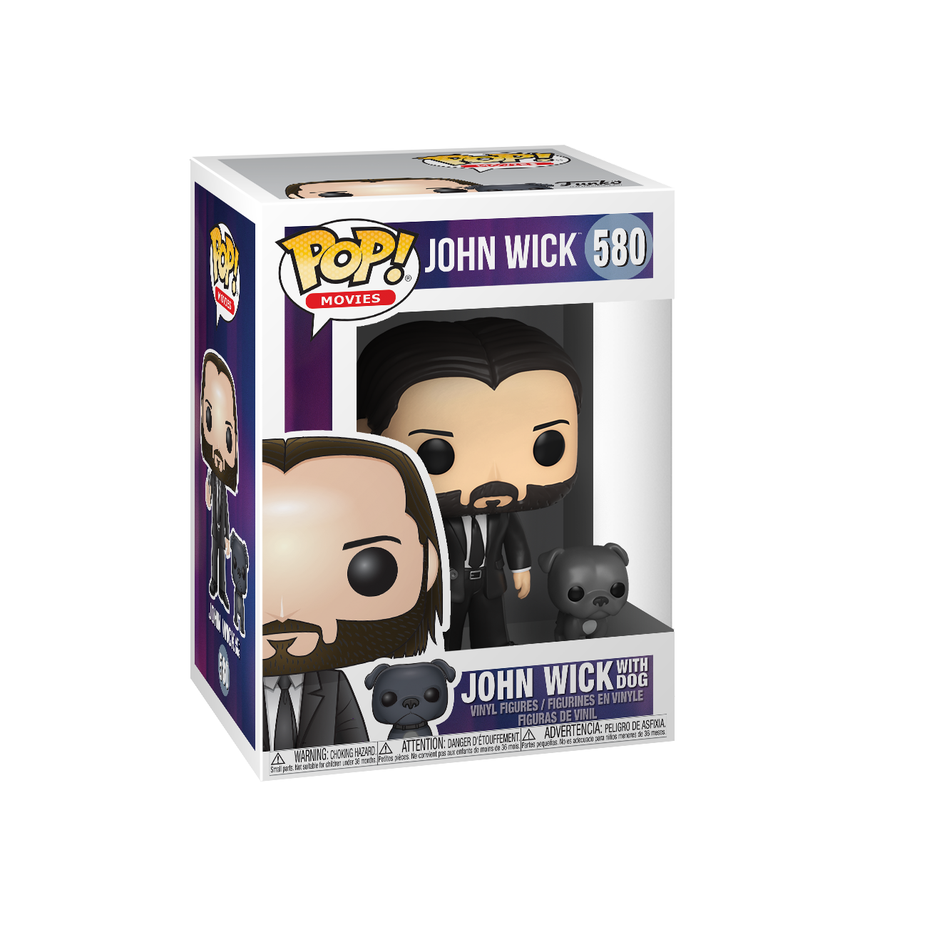 John Wick with Dog (Black Suit)