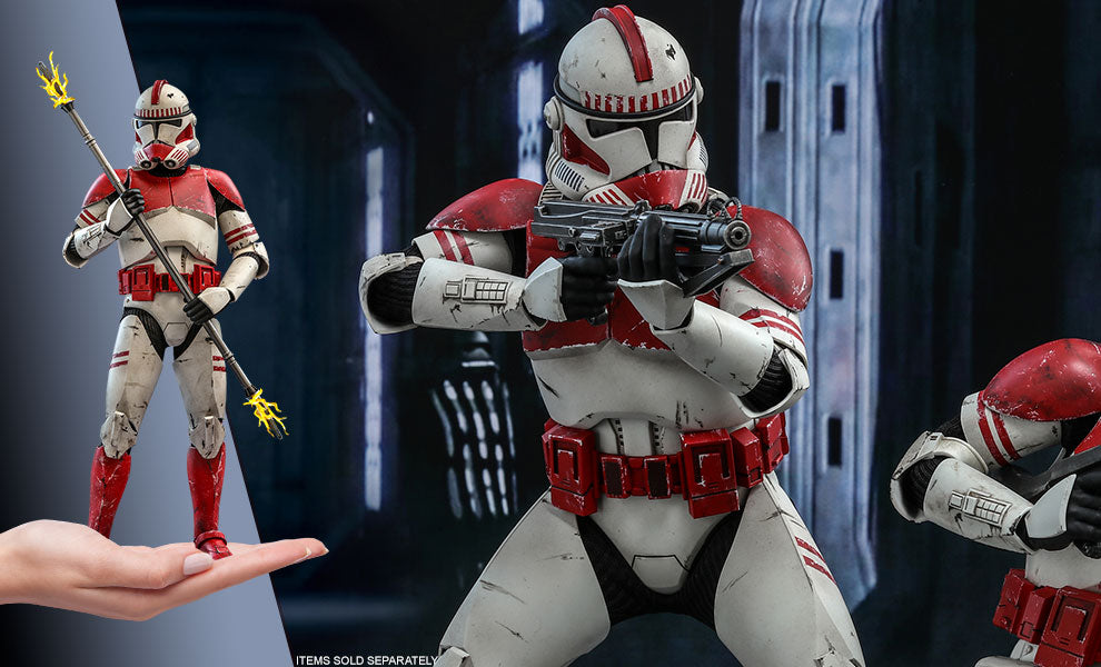 Coruscant Guard Clone Wars Sixth Scale Figure