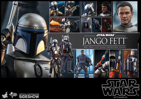 Jango Fett Star Wars Hot Toys Sixth Scale Figure