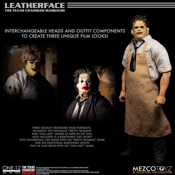 Leatherface Texas Chainsaw Massacre (1974) One:12 Collective Figure