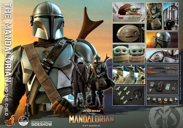 The Mandalorian and the Child Sixth Scale Figure Set