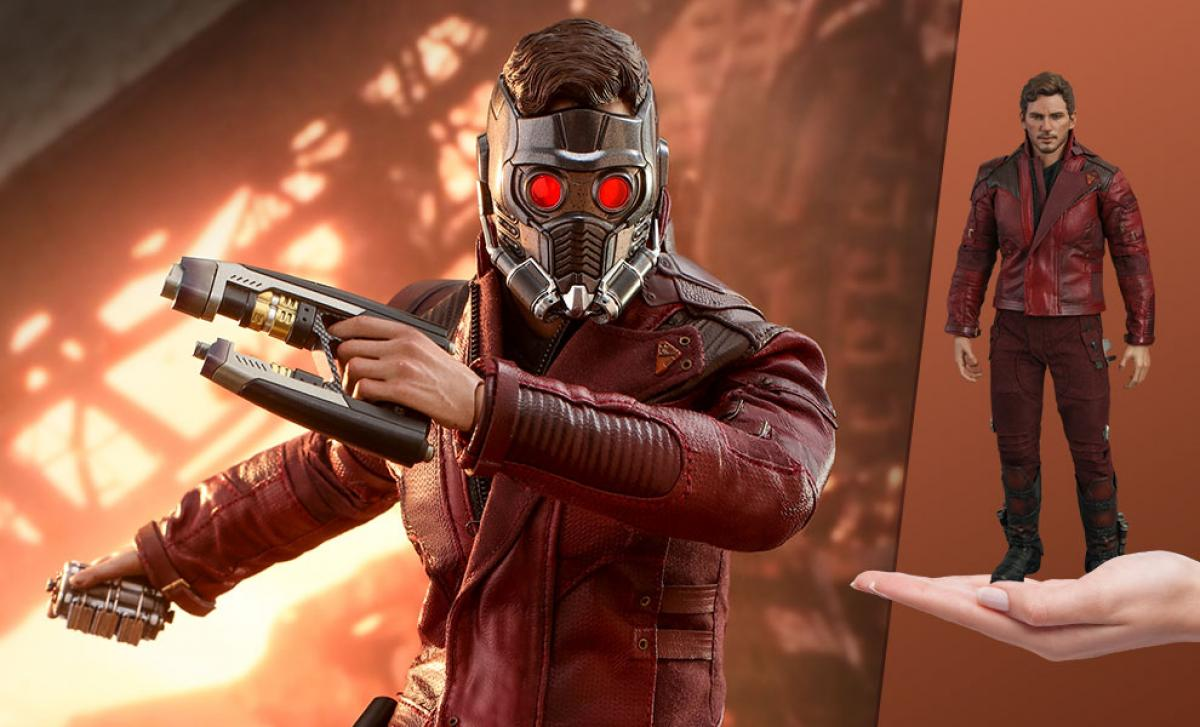 Star-Lord Avengers Infinity War sixth scale figure