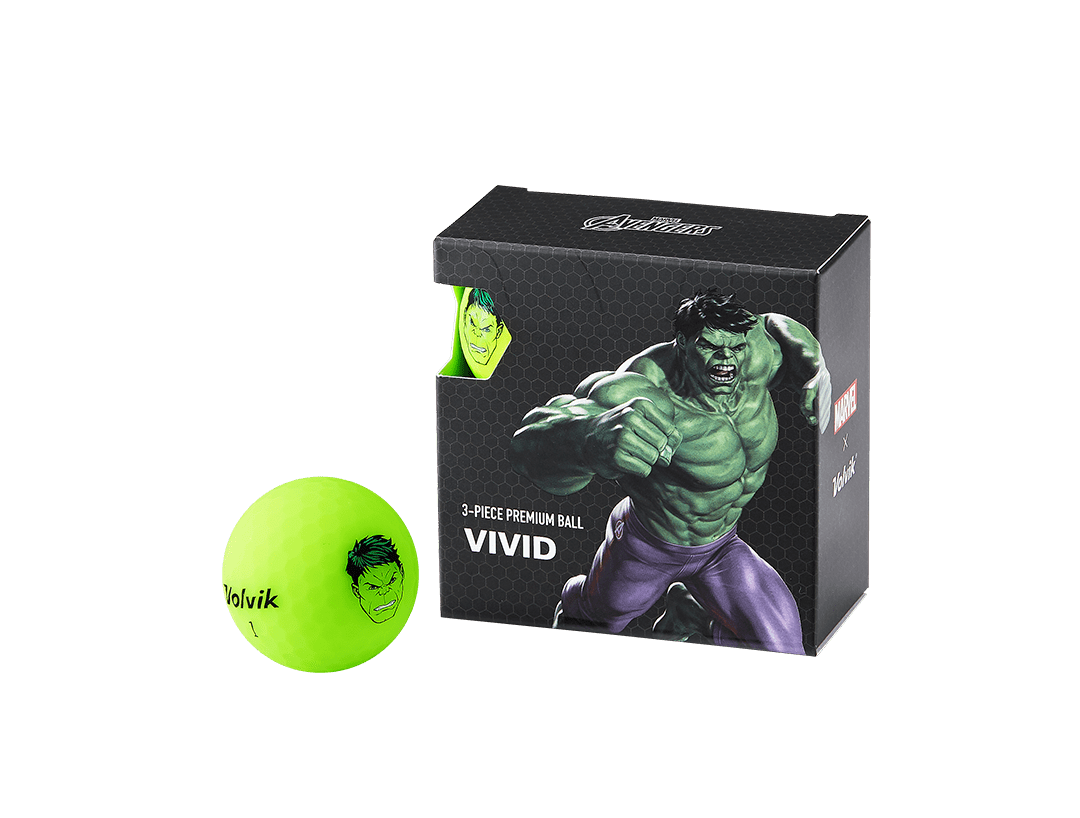Volvik Marvel's Incredible Hulk 4 Ball Set