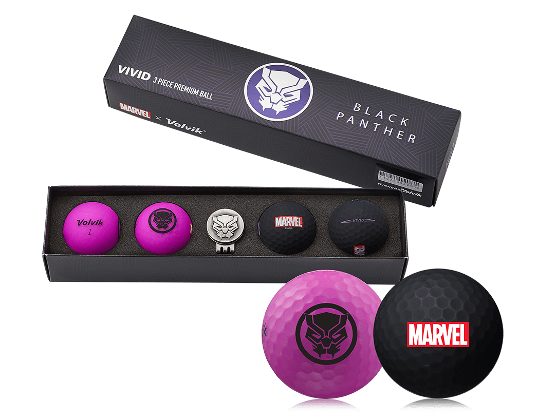 Volvik Marvel's Black Panther Gift Set