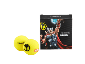 Volvik Marvel's Thor 4 Ball Pack
