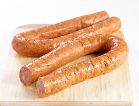Creole Queen Crawfish Sausage