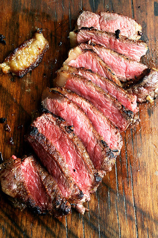 USDA Prime Boneless NY Strip Dry Aged 45 Days