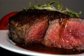 Angus Beef USDA Choice+ Filet Mignon Wet Aged 28 Days