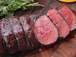 USDA Prime Center Cut Tenderloin Roast/Chateaubriand Wet Aged 28 Days