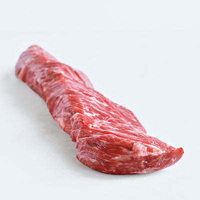 "Wagyu ""American Kobe""  Hanger Steak Wet Aged 28 Days"