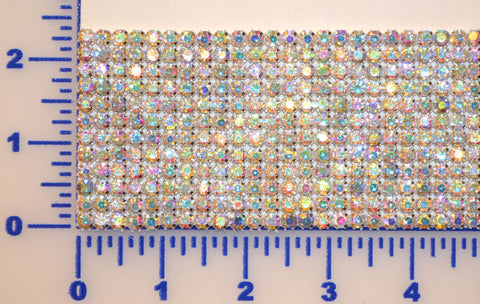 12 Row Rhinestone Banding. Available in Crystal & AB