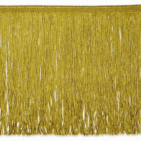 "12"" Gold Metallic Fringe"