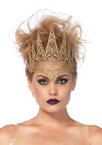 Die Cut Royal Crown. Available in Black and Gold