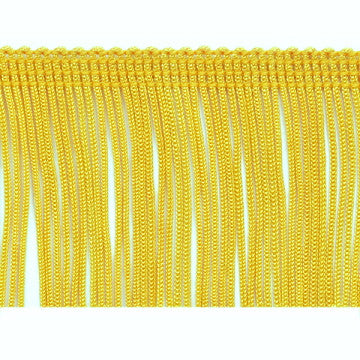 "3"" Yellow Chainette Fringe"