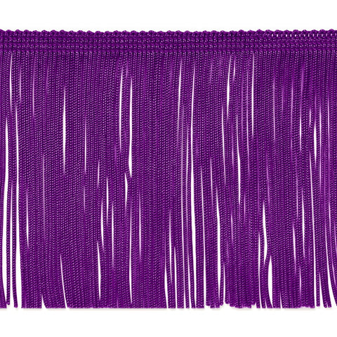 "4"" Purple Chainette Fringe"