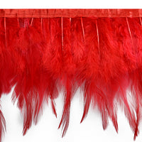 Dyed Feather Fringe - Available in 7 Colors