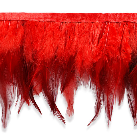 "5 1/2"" Dyed Feather Fringe - Available in 3 Colors"