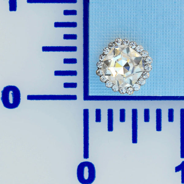 "5/8 "" Rhinestone Button- Individual or 12 Pack"