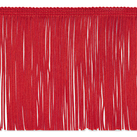 "7"" Red Chainette Fringe"
