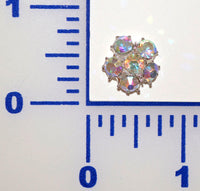 A.B. Rhinestone Button- Individual or 12 Pack